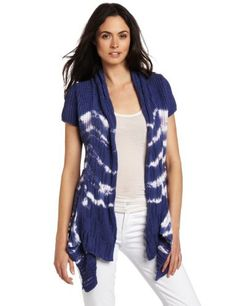Pure Handknit Women's Chamonix Short Sleeve Tie-Dye Cardigan Pure Handknit. $61.35. Made in Thailand. A pure handknit top performer and now even better with a fun spring tie dye. Hand Wash. This flowy, short sleeved cardigan is unmistakable feminine, adding softness to any outfit. 100% cotton