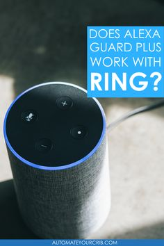 We love using Alexa to guard our smart home when we are away. Recently we purchased a Ring Alarm security system to add additional security to our home. Now, a few months later, Amazon introduced Alexa Guard Plus, an extra layer of protection to guard your home. So, we did some research. #alexa #alexaguard #guardplus #ring Smart Home Security, Amazon Echo, Rings, Ring, Jewelry Rings