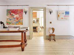 Tour the Greek Revival House of Photographer Pieter Estersohn Photos | Architectural Digest