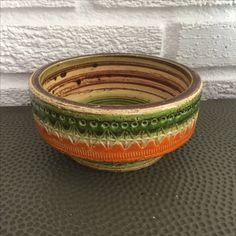 Bitossi Sahara ashtray. Aldo Londi. Mid century Italian pottery.