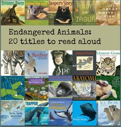 Endangered Animals: Building a read aloud collection There's a Book for That. My title, Abayomi, the Brazilian Puma is included above--go read it!