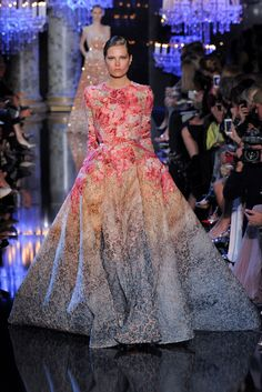 Elie Saab - Haute Couture Fall Winter 2014-15 - Shows - Vogue.it
