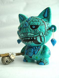 Cat Idol Munny by Frank Mysterio