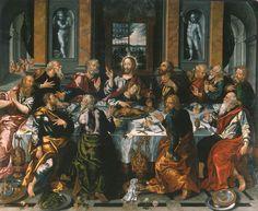 Alonso Vázquez - Last Supper