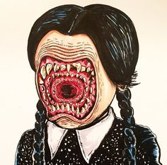 Wednesday Addams Dentata
