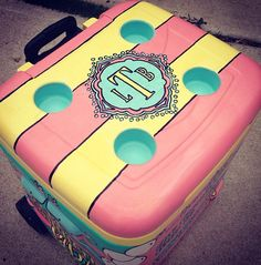 Monogram whale cooler! Perfect!!