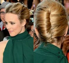 FRENCH TWIST HAIRSTYLE #frenchtwisthair