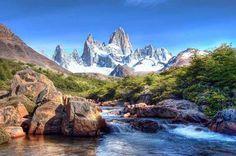 Monte Fitz Roy, Patagonia, Argentina ~ Chile