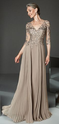 269e083bf613 Magbridal Attractive Tulle & Chiffon V-neck Neckline A-line Mother Of The  Bride Dresses With Lace Appliques