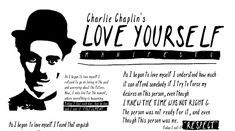 Charlie Chaplin's Love Yourself Manifesto (Infographic)   Mindvalley Academy Blog
