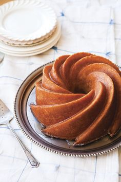 Kentucky Bourbon Cake (!), via Good Food/Vintage Cakes cookbook