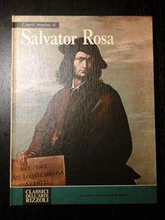 Libro arte: L OPERA COMPLETA DI SALVATOR ROSA - Classici dell arte Rizzoli