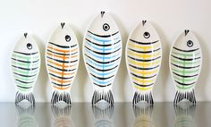 Why I need expendable cash. I have no idea what I would do with this set of fish dishes but I know I have to have them.