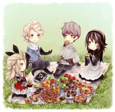 Bravely Default Picnic by ruuari.deviantart.com on @DeviantArt