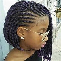 African Braids Hairstyles Fair 21 Best Protective Hairstyles For Black Women  Short Braids