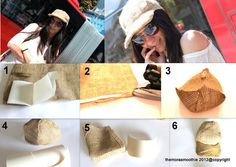 Diy Fashion and Outfit: Diy hat by @The Mora Smoothie