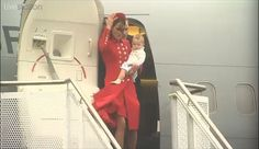 The Cambridges touch down in New Zealand.