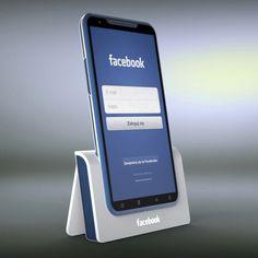 Facebook Phone Concept by Yanko Design