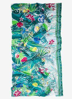 Tropical foulard - NEW IN STORE - Uterqüe United Kingdom