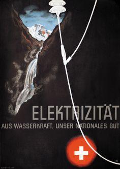 Alex Diggelmann 1936 Electricité
