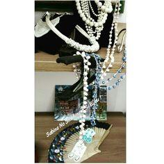 Dettagli di #viamilano52 Cesenatico bijoux ed abbigliamento donna creati a mano da me Sabina No Smoking? Si Bijou!