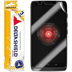 [3-PACK] DeltaShield BodyArmor - Motorola DROID MAXX Screen Protector - Premium HD Ultra-Clear Cover Shield with Lifetime Warranty Replacements - Anti-Bubble