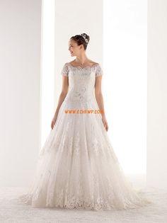 Frühling 2014 Carmen-Ausschnitt Sommer Brautkleider 2014