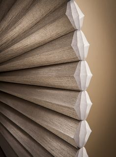 Duette® Honeycomb Shades are the original cellular shades, engineered to provide beauty and energy efficiency at the window in both cold and warm climates. Hunter Douglas, Window Coverings, Window Treatments, Honeycomb Shades, Cellular Shades, Window Styles, Color Mixing, Color Schemes, New Homes