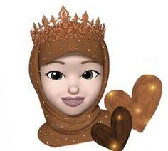 Drawing Cartoon Characters, Cartoon Drawings, Girly Drawings, Art Drawings, Girl Cartoon, Cartoon Art, Hijab Drawing, Girl Emoji, Islamic Cartoon