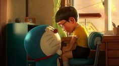 I love you Doraemon