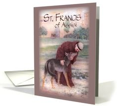 St. Francis of Assisi card (480381)