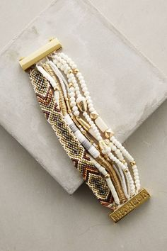Aloha Bracelet by Hipanema #anthrofave #anthropologie