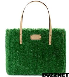 Weird & Wacky Fashion: Grass Tote