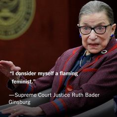 Twenty-five years ago today, Notorious Ruth Bader Ginsburg was sworn in as a U. Supreme Court Justice ( via ) Wise Women, Strong Women, Smart Women, Ruth Bader Ginsburg Quotes, Feminist Af, Feminist Issues, Justice Ruth Bader Ginsburg, Supreme Court Justices, Intersectional Feminism