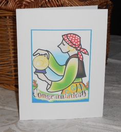 12 Step Recovery Congratulations Card Gypsy by 12StepUnityGal, $5.00