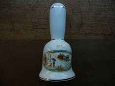 Currier and Ives Bell ~ 1976 ~ Bicentennial and stamped CNB inside. by ThomasCollectibles on Etsy