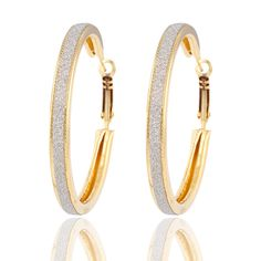67d6fd5606c52 17KM New Arrival Brand Unique Fashion Punk Generous Gold Color Big Circle  Hoop Earrings For Women Jewelry Accessories Wholesale -in Hoop Earrings  from ...