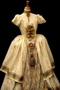 Golden Dress by CostumeSalon.deviantart.com