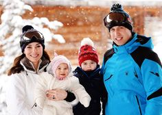 The family ski photos you have to see from Kate Middleton, Prince William, Prince George, and Princess Charlotte's trip to the French Alps