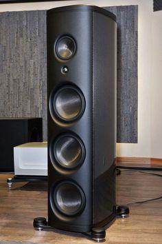 High End Speakers, Tower Speakers, High End Audio, Built In Speakers, Audiophile Speakers, Hifi Audio, Bluetooth Speakers, Audio Design, Speaker Design