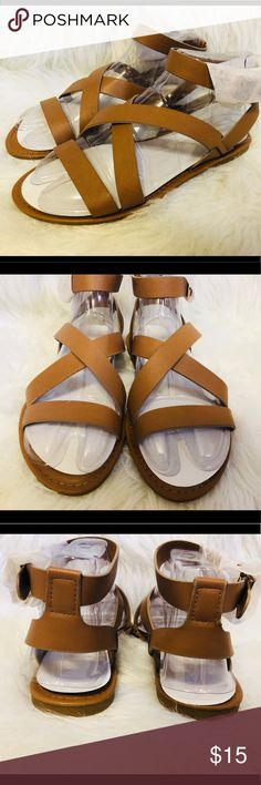 Bamboo Tan Sandals 🌴Super cute summer sandals🌴 bamboo seashore sandals in tan. New, never worn in box.   Size: 7  Offers are welcome🙂 No trades please.🌸 BAMBOO Shoes Sandals