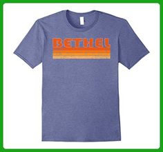 Mens Vintage Retro Bethel Alaska T-Shirt 2XL Heather Blue - Retro shirts (*Amazon Partner-Link)