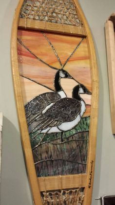 stain glass in snowshoes - Google Search