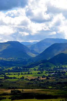 Newlands Valley in Keswick, Cumbria | England