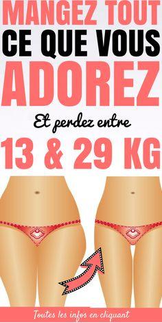 Perdre entre 13 & 29 kg avec ce régime (en mangeant ce que vous aimez)