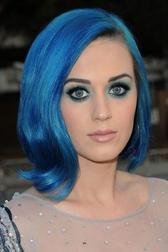 Katy Perry's got the blues...