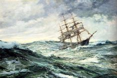 Image result for shop moored in stormy seas