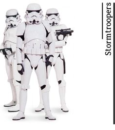 """Stormtroopers - from """"A Fans Guide to Star Wars"""" by daniekl #StarWars"""