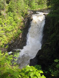 Moxie Falls Maine, been here, would like to go again