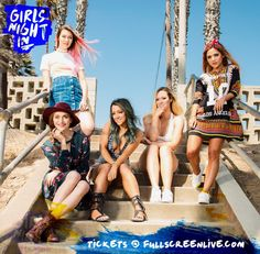 Jessie Paege, Alisha Marie, Alyson Stoner, Niki & Gabi, Fullscreen, Girls Night In, Youtubers
